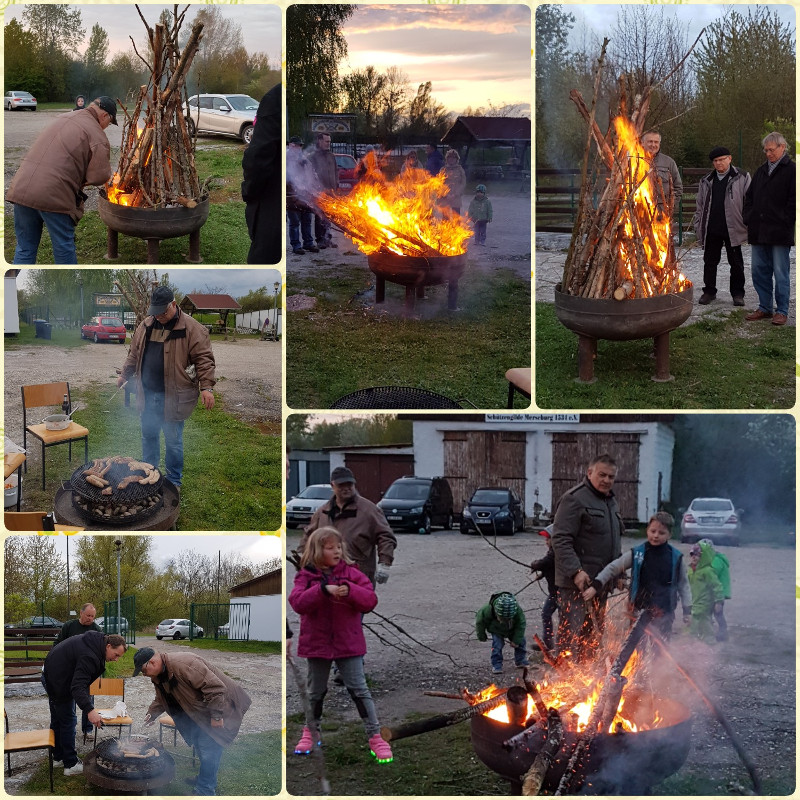 Osterfeuer 2017 Collage: Britt Rotha